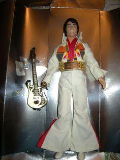 1984 Elvis Presley Eagle Outfit, Eugene Doll, Endorsed by Graceland,