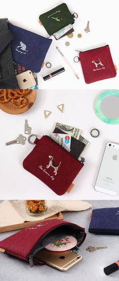 This adorable animal themed pouch comes in every size imaginable for all your daily and travel necessities! Carry anything from cash and cards to your makeup, pens, and phone in the cutest pouch!