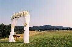 gorgeous outdoor ceremony spot | Jen Fariello #wedding