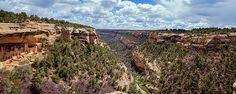 Great pano shot from Joan Carroll:  http://fineartamerica.com/featured/cliff-palace-mesa-verde-joan-carroll.html #MESAVERDE #COLORADO via @joancarroll @joan