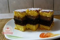 Mimóza szelet Oreo, Muffin, Sweets, Breakfast, Desserts, Food, Recipies, Morning Coffee, Tailgate Desserts