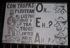 Ideología Socialista: LA OEA ES COSA DE RISA CARLOS PUEBLA   pregunto yo...