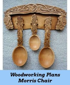 You'll locate suggestions and also Woodworking Hacks for any type of Do It Yourself furnishings, garage cabinets, under-the-saw storage space, as well as both simple and complicated versions of interior as well as exterior cabinets. Wooden Spoon Carving, Carved Spoons, Wood Spoon, Wood Carving, Woodworking Lamp, Woodworking Projects, Welsh Love Spoons, Chip Carving, Easy Wood Projects