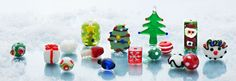 Get Festive with Glass Holiday Beads