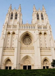 The Washington National Cathedral   Built: 1907-1990  Style: Neo-Gothic  Master Plan: George Frederick Bodley  Landscape Design: Frederick Law Olmsted, Jr.  Principal Architect: Philip Hubert Frohman with Ralph Adams Cram