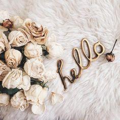 ✩ & more ★ https://fr.pinterest.com/miaprimeau/ #flowers #hello #white
