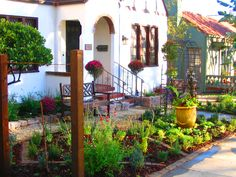 tuscan style frontyard ideas | One of my favorite garden television makeovers was a front yard ...