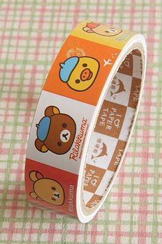 medium cute cartoon RILAKKUMA PAPER tape