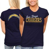 San Diego Chargers Ladies Game Day T-Shirt
