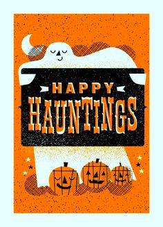 Wonderful idea for a Halloween card