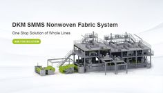 DKM Nonwoven Fabric Technology is supplying Spunmelt Non-Woven Production Lines. The Spunmelt Non-Woven Production Lines including extruder, recycle extruder, filter, screen changer, metering pump, monomer sctution, stretching channel etc… The fabric valid width of spunmelt nonwoven lines from 2400mm, 3200mm to 4000mm, can doing for SMS,SMMS,SMMMS,SSMMS, Production, capacity 10-15ton. Email: sino-mould@hotmail.com Whatsapp: +86 152-5760-1955