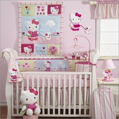 I keep telling my Hubby we are doing a HK nursery if we have a little girl! This is adorable!