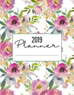 The Best 2019 Free Printable Planner to Organize Your Life! /// Pages The Best 2019 Free Printable Planner to Organize Your Life Pages is waiting for you at The Cottage Market! It will totally organize your New Year! Free Planner, Blog Planner, Happy Planner, 2015 Planner, Planner Ideas, Planners, Planner Sheets, Bullet Journal, Organize Your Life