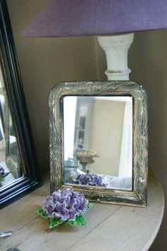 Lovely mirror from France-Bikkel Brocante & Curiosa