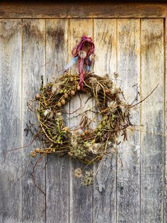 Discover how to make your very own bird's nest Christmas wreath with our feature on GardensIllustrated.com