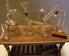 Miniature Laboratory Glass <3