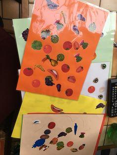 Semaine du goût: fabriquer des sets de tables fruits et légumes | Education-Enfance.fr