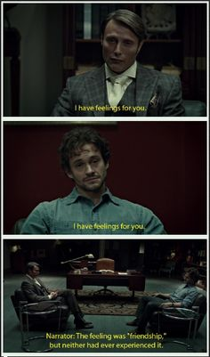 Hannibal edit. I can just picture this being narrated by the pushing daisies narrator