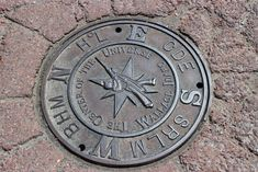 Center of the Universe - Manhole cover
