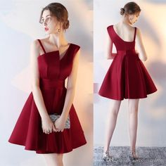 A dress for party and all occasions dress for party 2017 new simple burgundy strapless cocktail dresses short formal party dresses black rorfnmk True Style Never Dies Trendy Dresses, Sexy Dresses, Evening Dresses, Short Dresses, Fashion Dresses, Cute Party Dresses, Formal Dresses, Mini Dresses, Dress Party