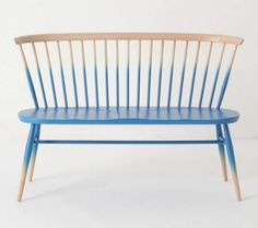 ombre bench
