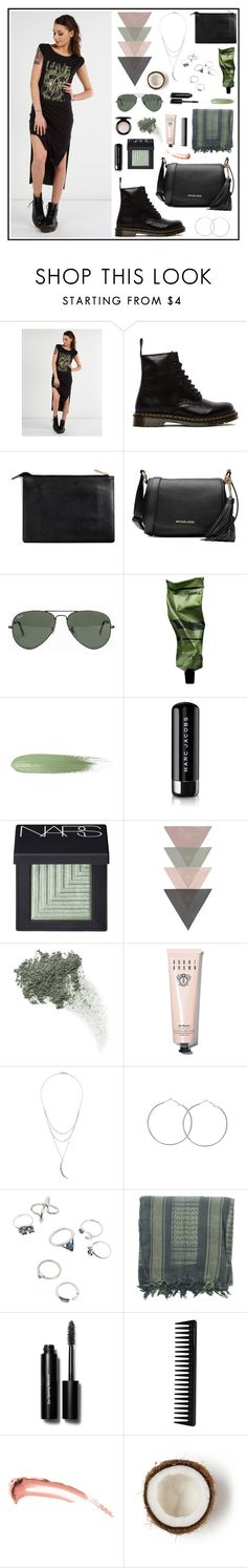 In-between days by metonweb on Polyvore featuring moda, Dr. Martens, MICHAEL Michael Kors, Charlotte Russe, Ray-Ban, NARS Cosmetics, Bobbi Brown Cosmetics, Bare Escentuals, MAC Cosmetics and Marc Jacobs