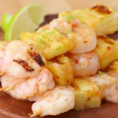 Tropical Shrimp and Pineapple Grilled Skewers