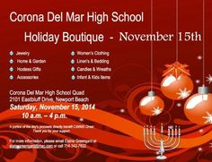 Come to our first live appearance, say hello and taste our Signature Sprouted Green Mung Beans Salad.  We will be demonstrating how our Sprouting Kit works at the Corona Del Mar High School Holiday Boutique on Saturday, November 15, 2014 from 10-4pm and are proud to have a portion of proceeds donated to the CDM Middle School Cheer Team.  We hope to see you there!