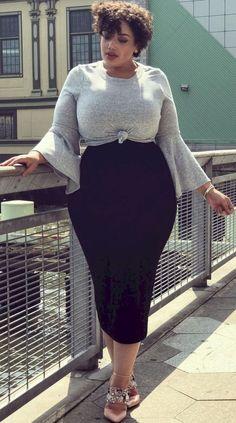 Stylish Plus-Size Fashion Ideas – Designer Fashion Tips Plus Size Fashion For Women, Plus Size Women, Plus Fashion, Womens Fashion, Fashion Trends, Fashion Ideas, Fashion Stores, Cheap Fashion, Affordable Fashion