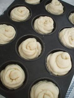 Muffin Recipes, Bread Recipes, Cake Recipes, Dessert Recipes, Cooking Recipes, Baked Doughnuts, Sweet Pastries, Hungarian Recipes, Sweet Cakes