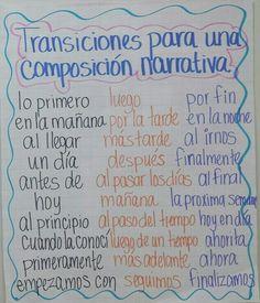 Composicion narrativa: transiciones útiles