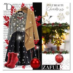 """ZAFUL I/29"" by amra-softic ❤ liked on Polyvore featuring Balmain and zaful"