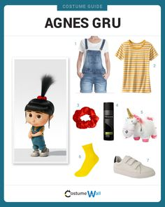 Dress Like Agnes Gru from Despicable Me. See additional costumes and Agnes cosplays.