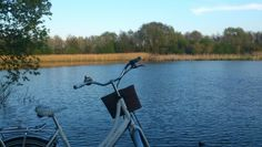 Eveningride by the lake. Cosy, windy and beautyful. ...  Tags: #Batavus, #Diva, #Bicycle, #Bike, #small #adventure, #lake