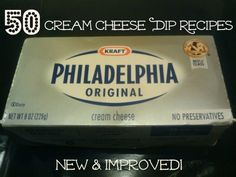 WOW... Cream Cheese Recipes And Dips ~ awesome!