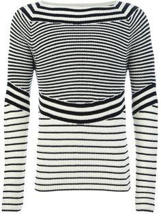 JEAN PAUL GAULTIER - bateau neck sweater 6