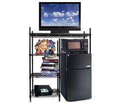 Organizing Tool - The Shelf Supreme - Adjustable Shelving - Spacious Dorm Room