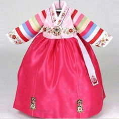 Baby girls hanbok - Short pink top (toddler size available)
