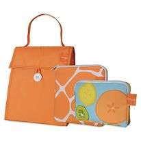 Insulated 3-Piece Lunch Bag Set in Orange, $19.99 Adult Lunch Box, Snack Bags, Lunch Bags, Sandwich Bags, Orange Bag, School Days, Back To School, Insulation, Tech Accessories