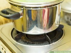 4 Ways to Steam Asparagus - wikiHow Steamed Asparagus, Kitchen Aid Mixer, Preserves, Preserve, Preserving Food, Butter, Pickling
