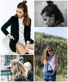 Half-Up Top Knot #hairstyles #beauty #trends