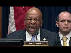 Elijah Cummings Explodes when Caught in IRS cover up - YouTube