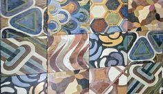 pattern tiles Sydney colour