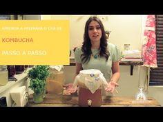 Aprenda a preparar o chá milagroso KOMBUCHA!!!! Passo a passo. Probióticos para nosso intestino! #saude #brasil #receitas