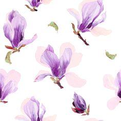 Pattern repeat of Gabby Malpas painting by A'Marie Daisyjaw coming soon to www.gabbymalpas.com