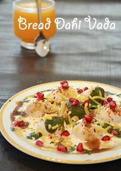 BREAD DAHI VADA RECIPE / EASY SNACKS RECIPES / HEALTHY SNACKS, How to make instant dahi vada made of bread, Bread Dahi VadaDahi Vada : Chaat recipe: Indian Vegetarian Appetizer Recipe , Snack , Breakfast recipe or Evenings snack, easy, quick and healthy. easy recipe with leftover bread , Bread Dahi Vada - a quick and easy snack using bread and yogurt perfect for summerA quick to make and tongue tickling snack - Bread Dahi Vada , Dahi Bhalla, Dahi vada, Dahi Bhalle , bread dumplings ...