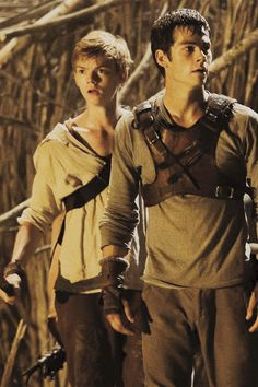 thomas sangster and dylan o'brien
