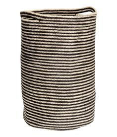 Check this out! Jute laundry basket with two handles. Diameter approx. 12 1/2 in., height 20 1/2 in. - Visit hm.com to see more.