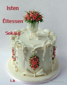 Royal Icing Cakes, Cake Icing, Cupcake Cakes, Unique Cakes, Elegant Cakes, Creative Cakes, Amazing Wedding Cakes, Amazing Cakes, Gorgeous Cakes