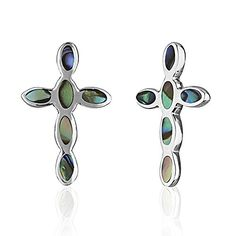 Children's 925 Sterling Silver Silver Cross Shell Stud Earrings -- Check out the image by visiting the link. Sterling Silver Cross, Sterling Silver Jewelry, Girls Earrings, Stud Earrings, Mystic Clothing, Purple Velvet, Palm Coast, Shells, Integrity